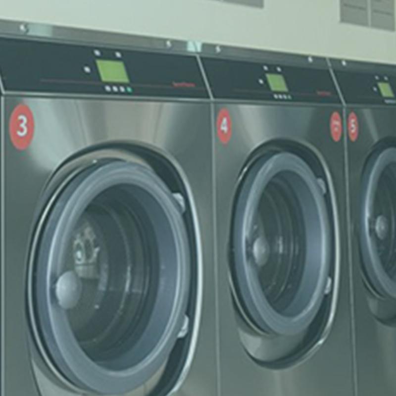 Instalación de lavanderías autoservicio